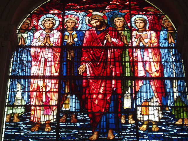 Brum cathedral glass